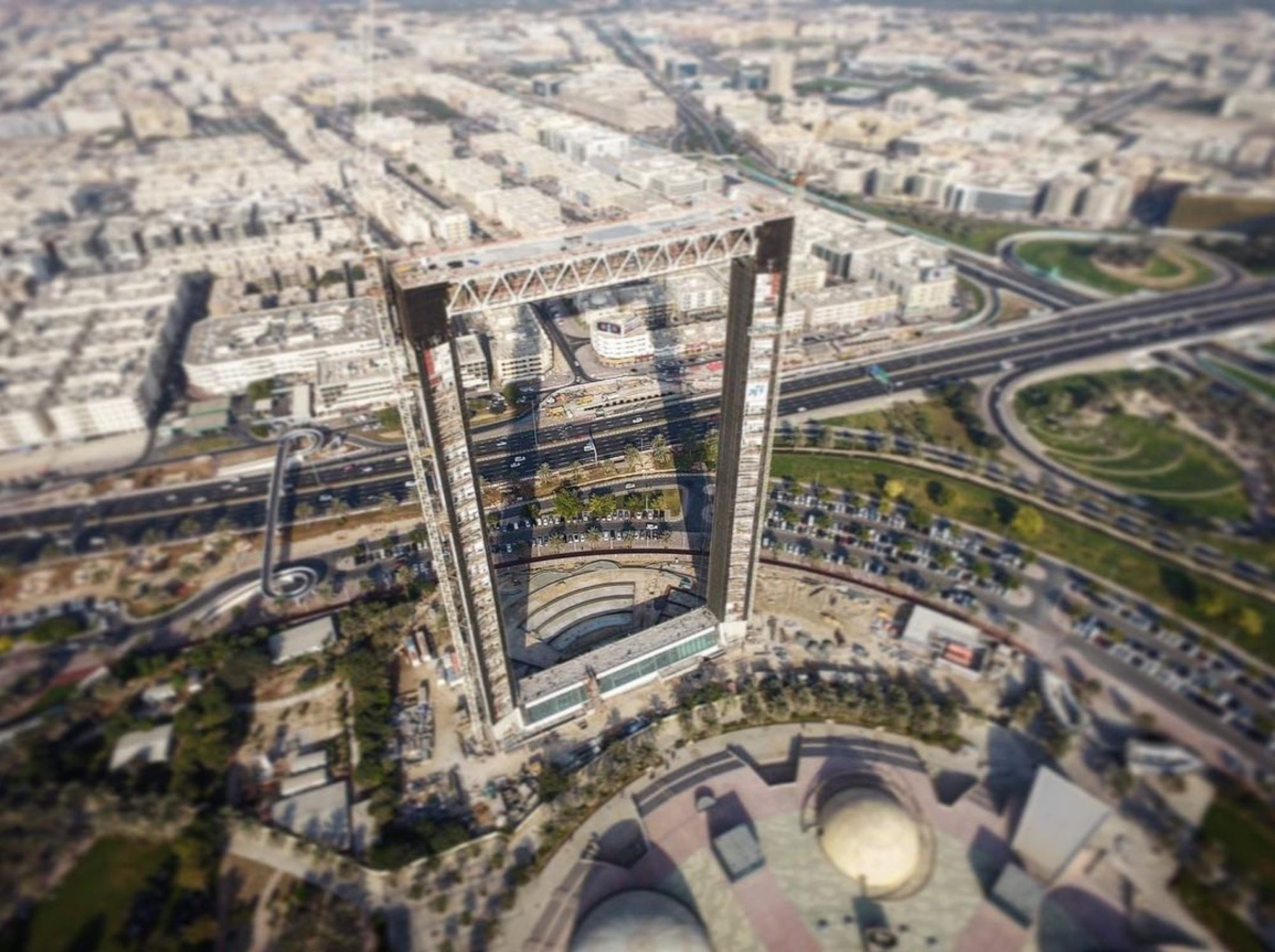 Dubai Frame Approaches Completion Amid Allegations of Stolen ...