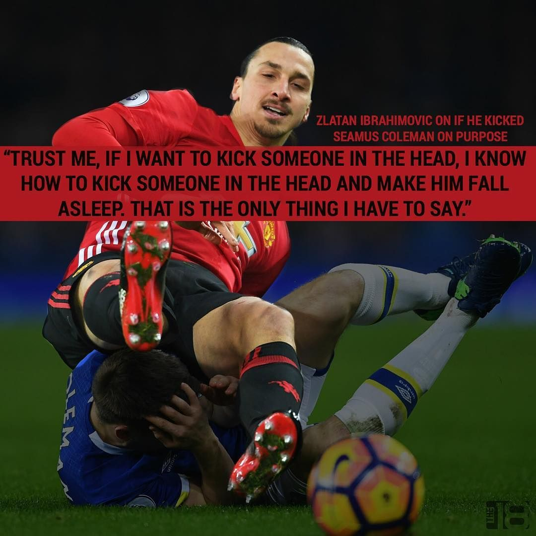 Zlatan Knows How To Knock You Out So Don T Question Him Zlatan Manu Manutd Manutdfans Ibrahimovic Epl Zlatan Quotes Zlatan Ibrahimovic Soccer Quotes