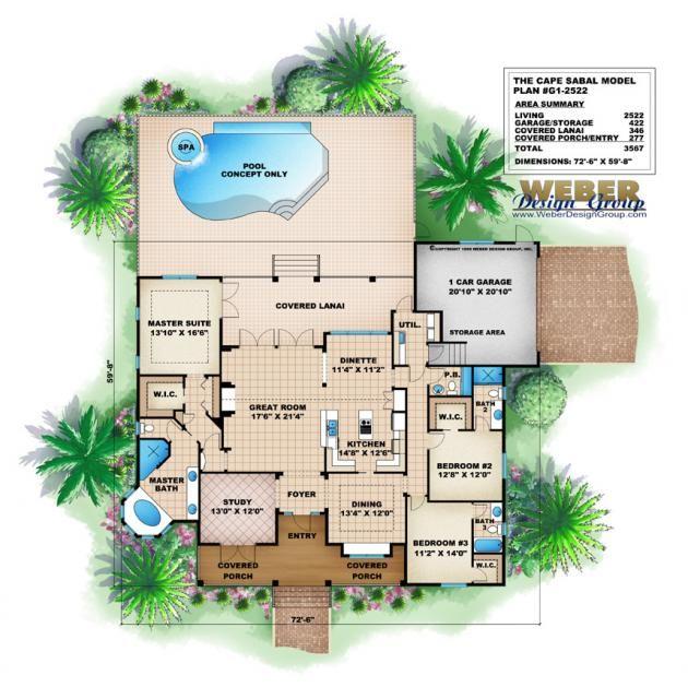 Enjoyable House Plans Florida Pictures Eperjuangan Com Home Design Ideas Largest Home Design Picture Inspirations Pitcheantrous