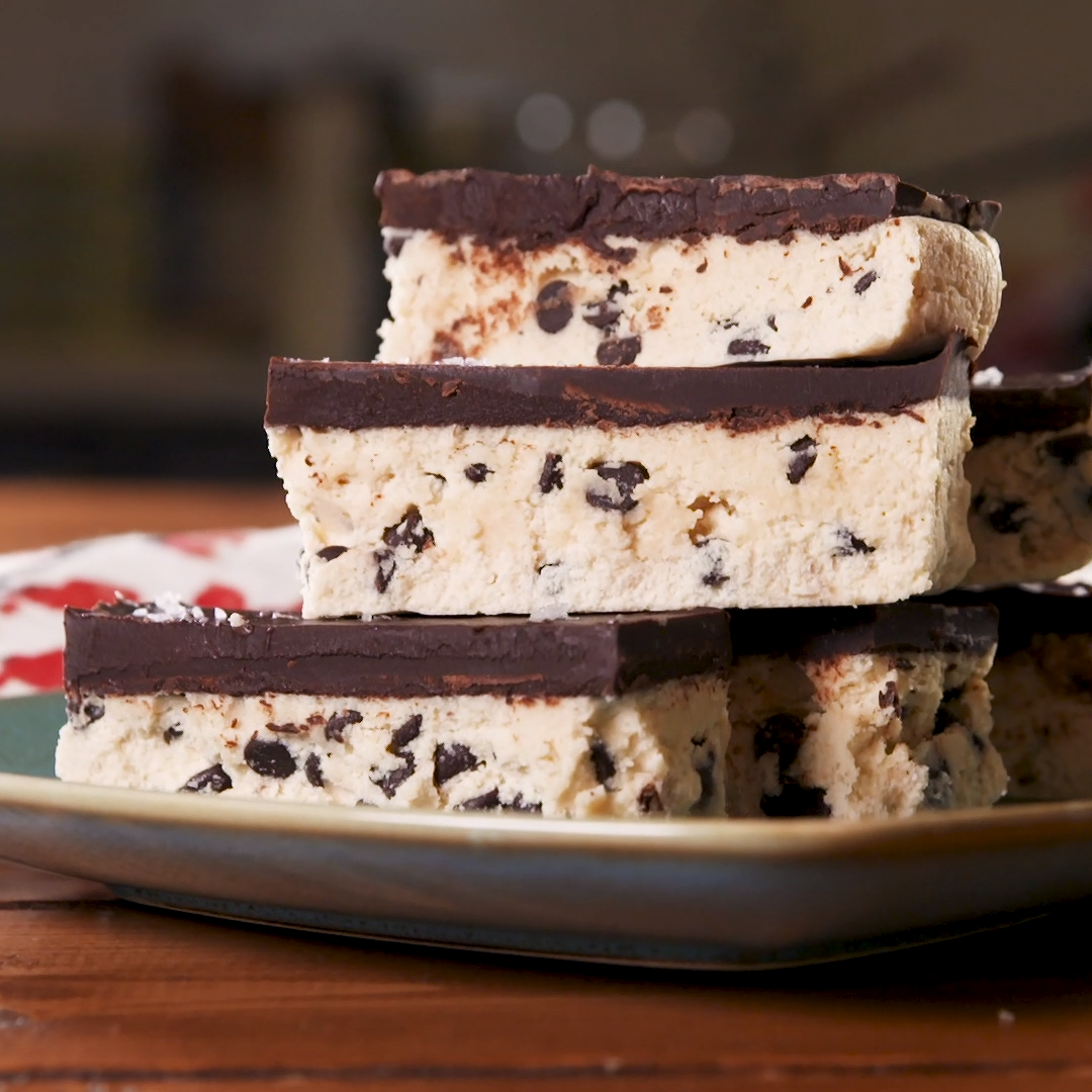 Keto Cookie Dough Bars