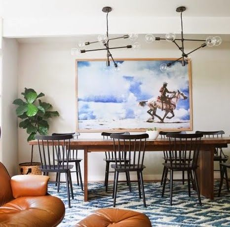 Eclectic Dining Room Adorable Dwr Salt Chairs Lightingone Forty Three From Cup Of Jo 2018