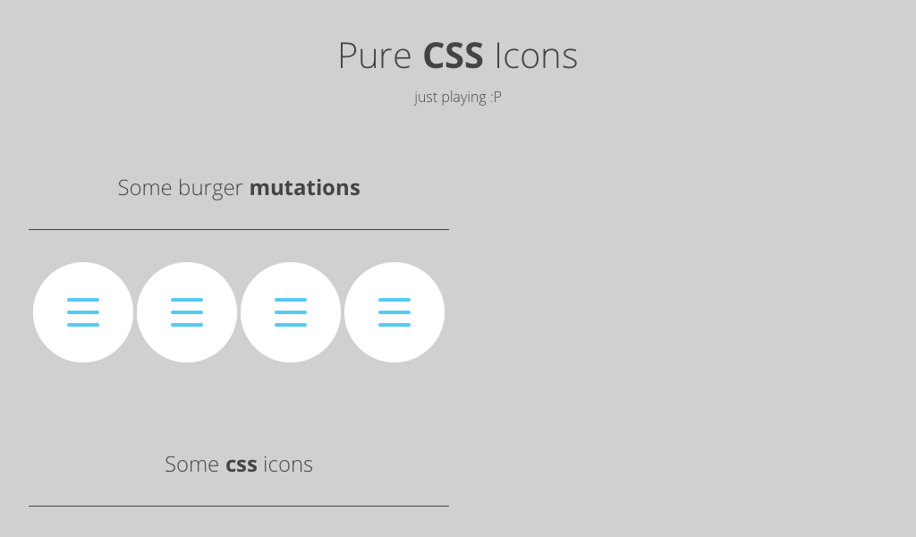 Pure CSS icon   Web Development   Animated icons, Pure products, Ui