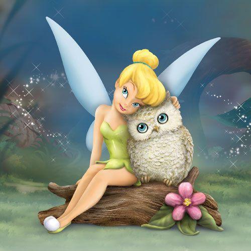 """Résultat de recherche d'images pour """"figurine: disney tinker bell owl always love you figurine"""""""