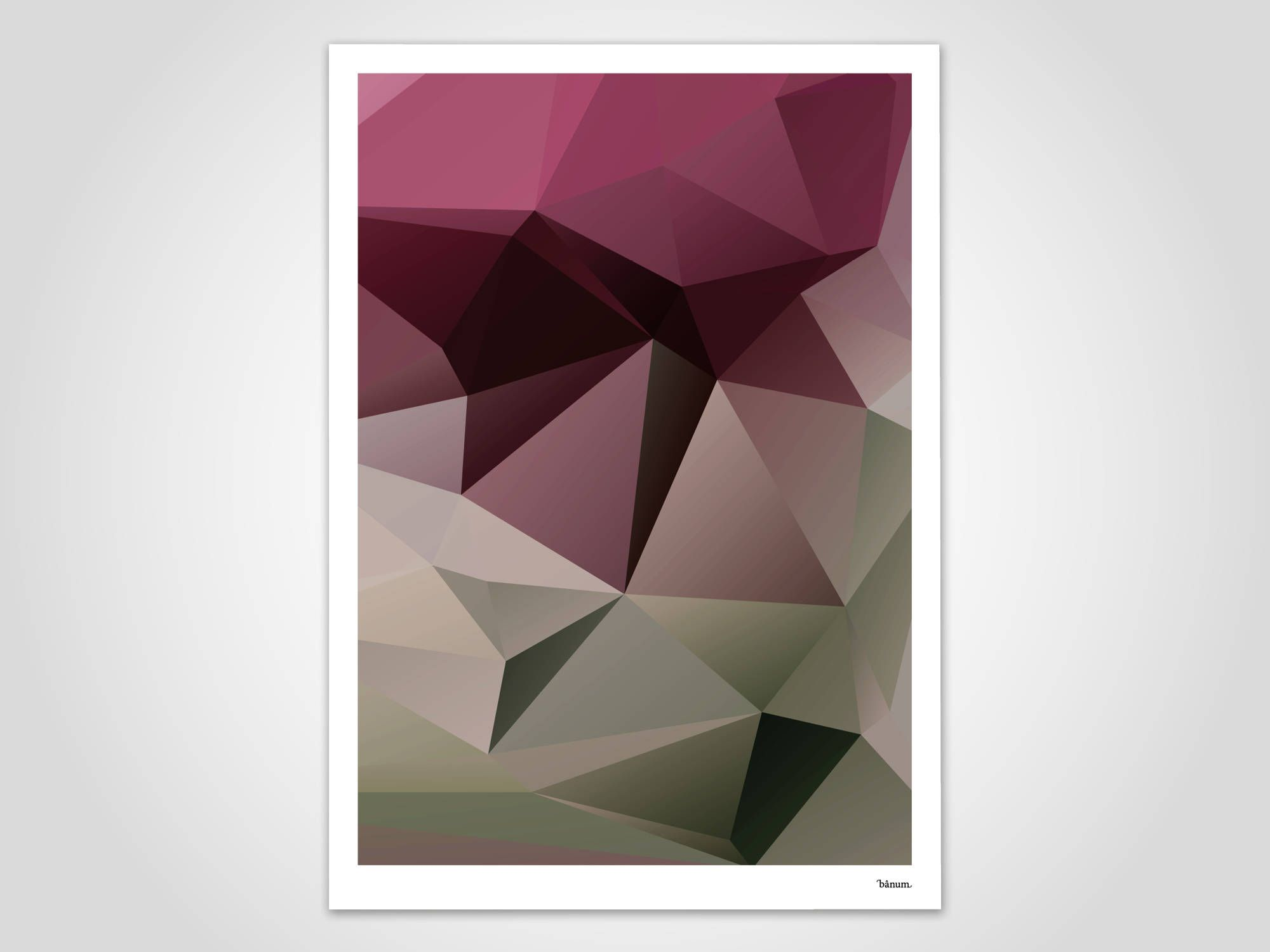 Kunstdrucke Modern cherry modern poster abstract prints modern wall prints