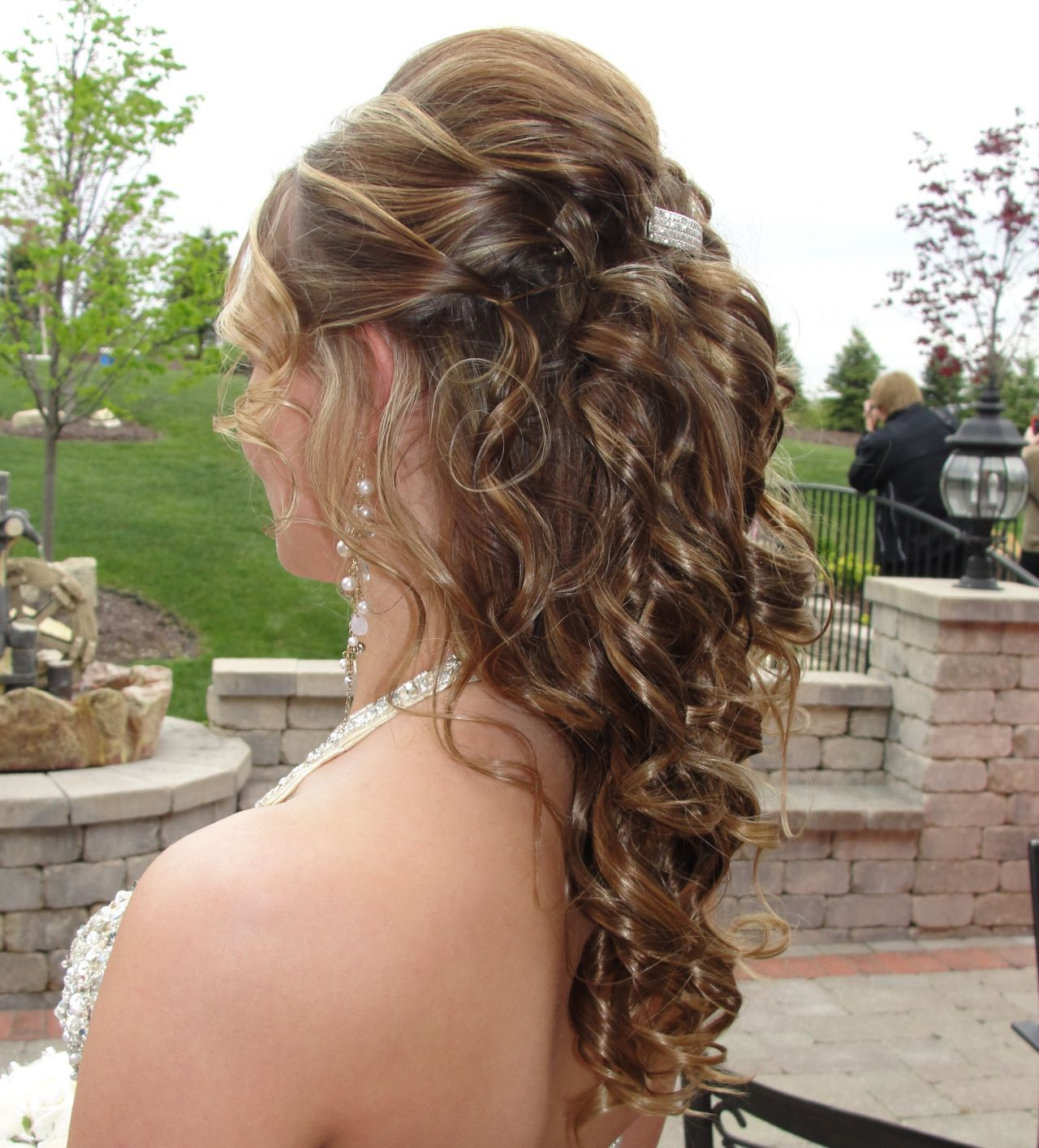 Curly Hair Down Hairstyles quick hairstyle ideas