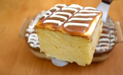 كيكة الحليب والكراميل على الطريقة التركية تريليتشا Tres Leches Cake بالفيديو Tres Leches Cake Food Desserts
