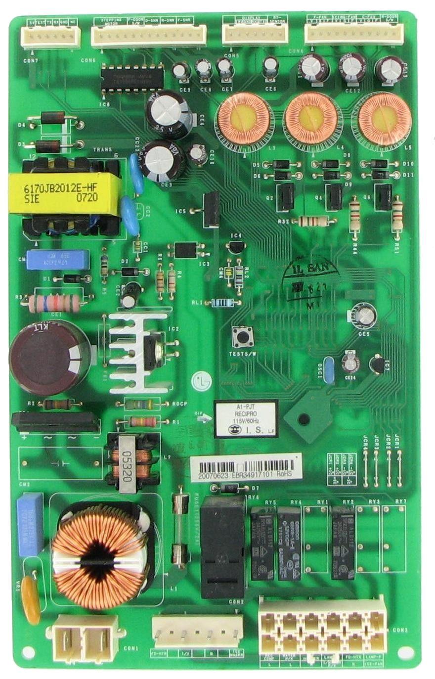 Lg Ebr34917101 Refrigeration Control Board Refrigerator Lg Refrigerator Models Control