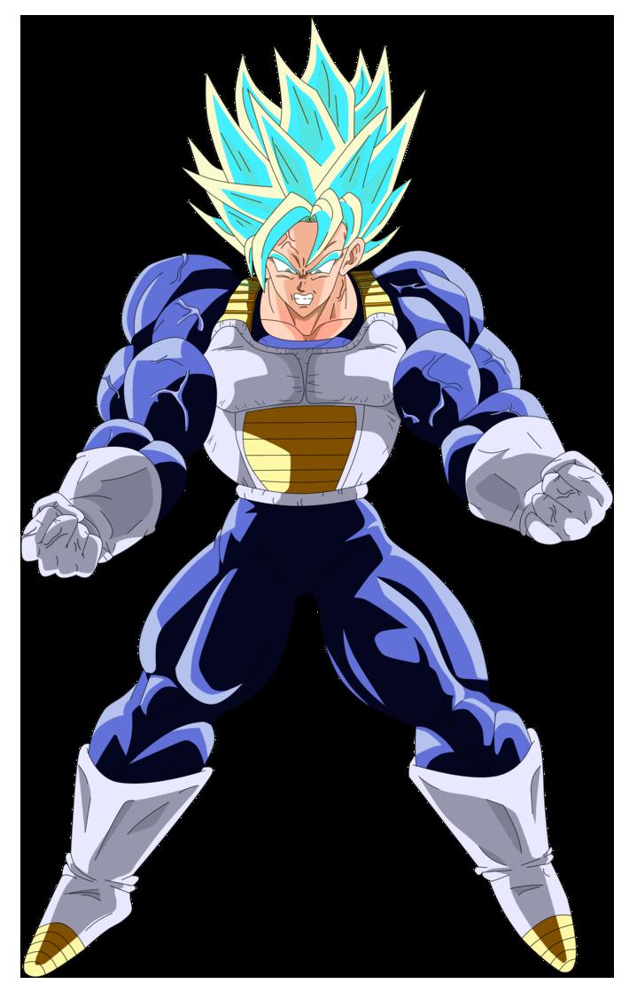 Goku Ultra Super Saiyan Blue by FreddieNannuz | Dragon ball super ...