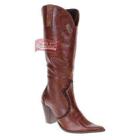 55068dfb6ee4dd  Bota West Country feminina modelo Texana bico fino be03a0cab18