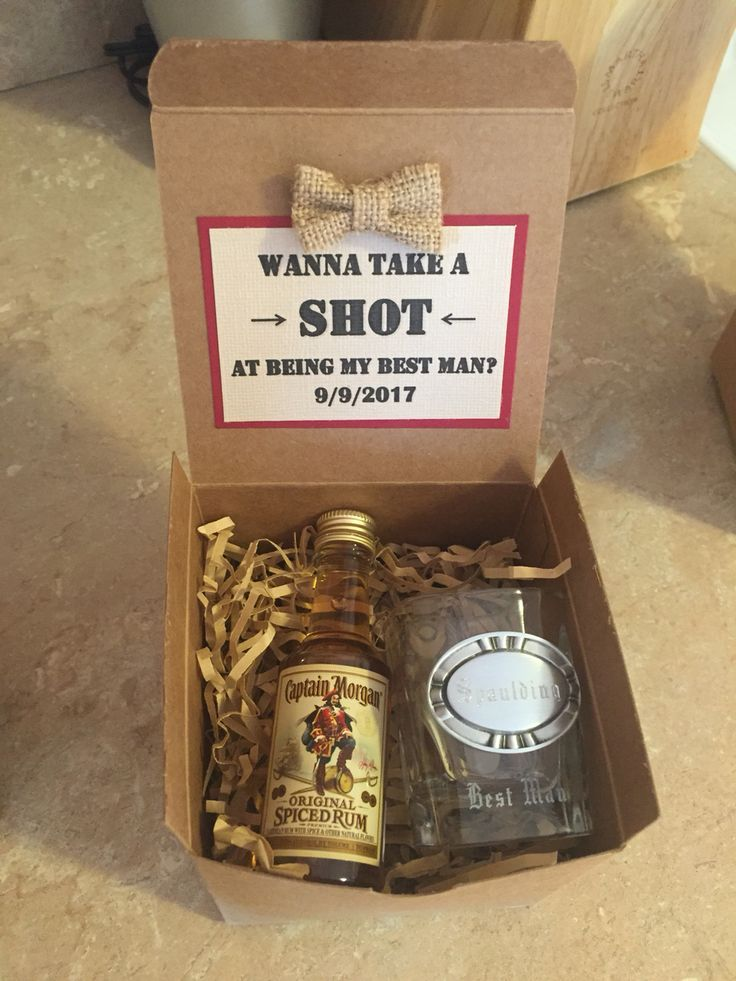 Asking your groomsmen/best man to be a part of your big day ...