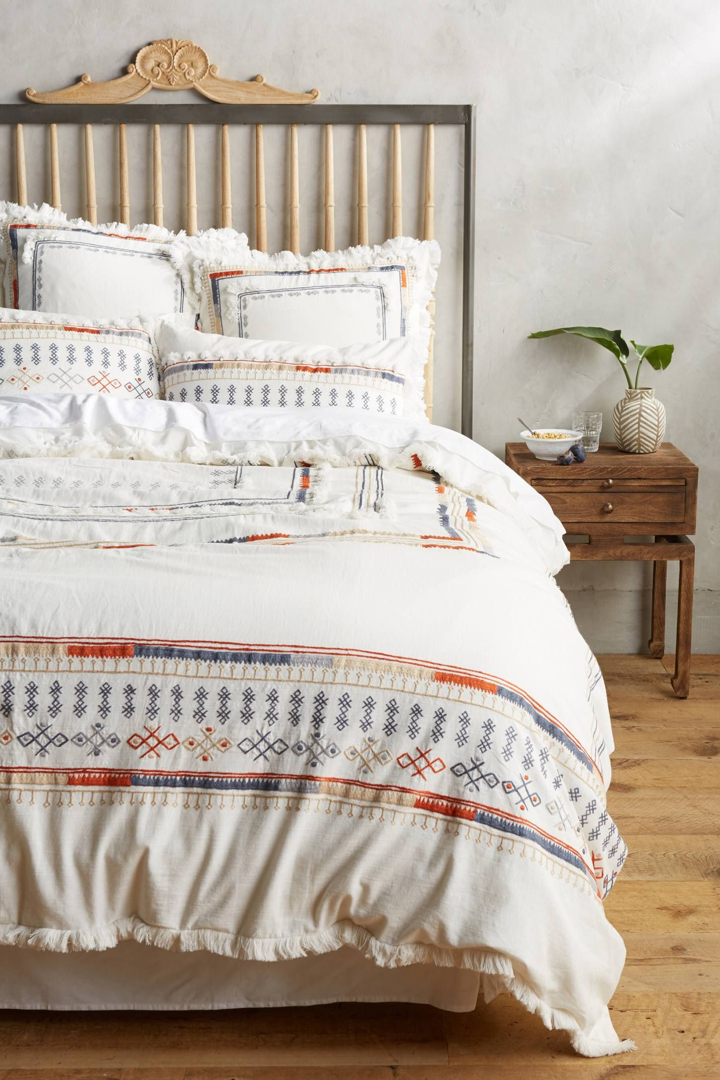 Shop the Kessabine Duvet and more Anthropologie at Anthropologie