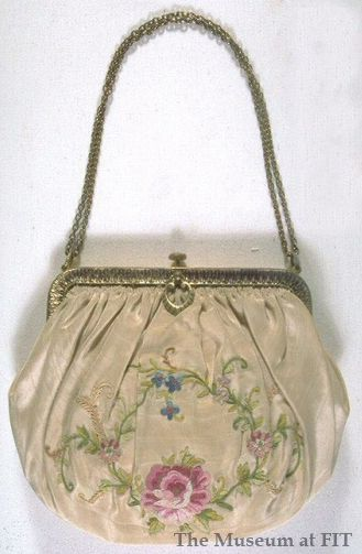 Evening pouch bag, France, c.1935, Gift of Ethel L. Mackey via Museum at FIT