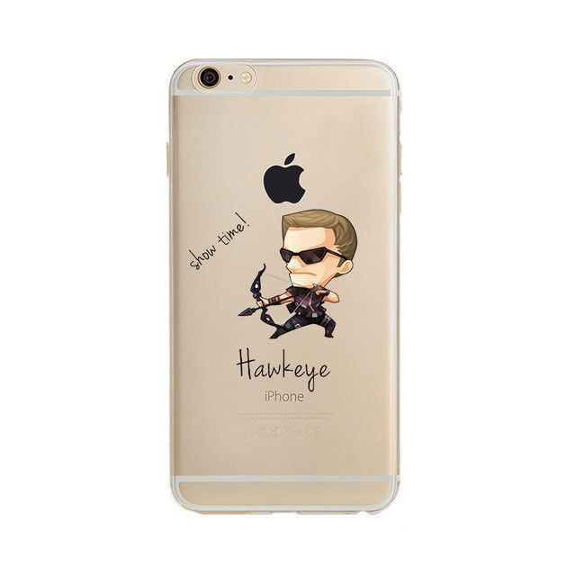 Original Hawkeye Soft Silicon iPhone Case | Superhero