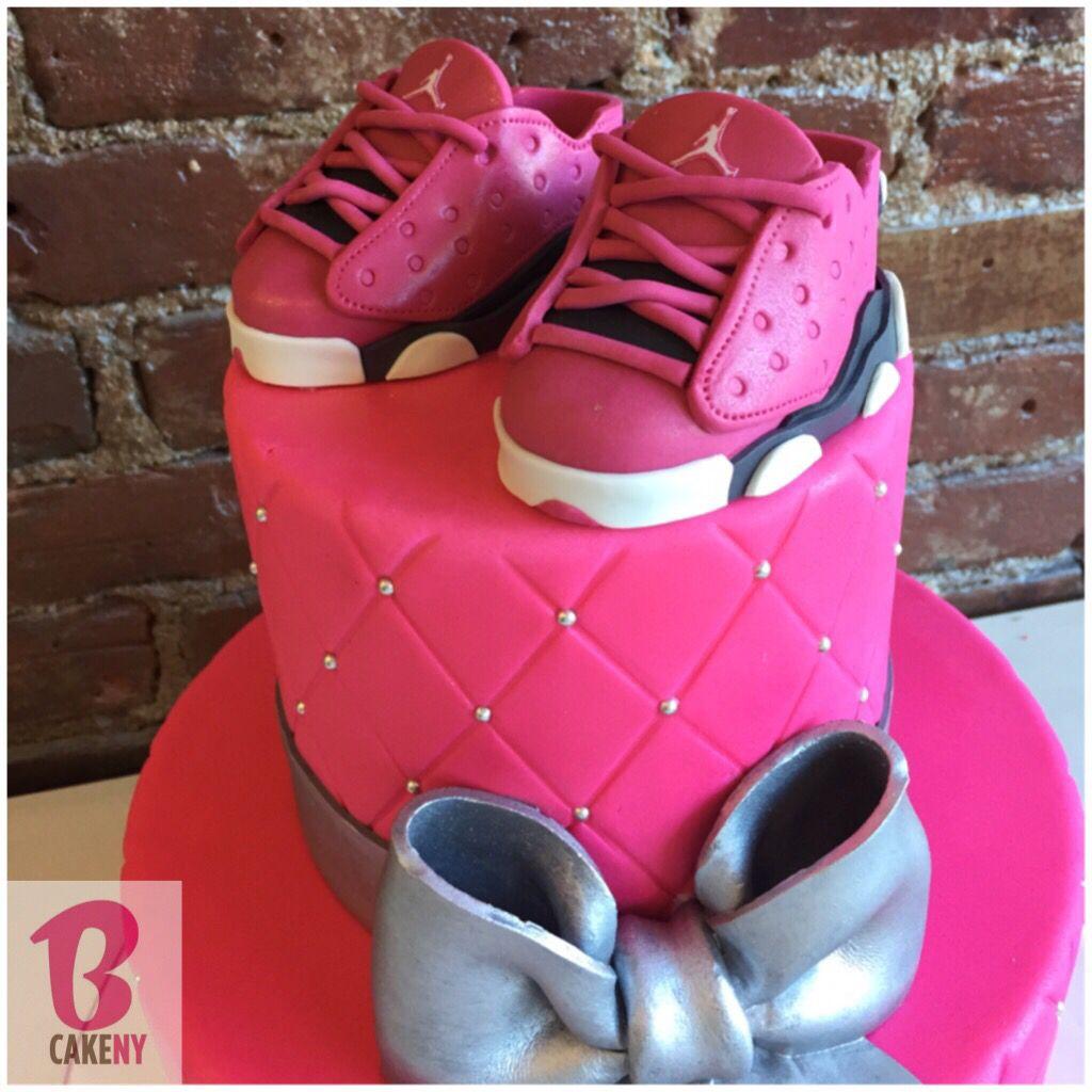 8134ec65833c Baby Girl Jordan Cake!  alledible