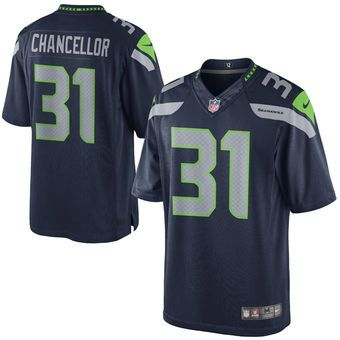 6c54f890f Kam Chancellor Seattle Seahawks Nike Team Color Limited Jersey - College  Navy