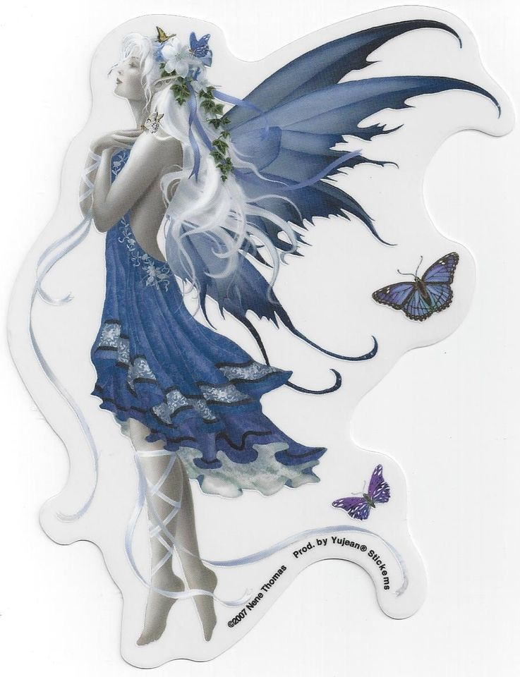 NEW GOTHIC FAIRIES Decal ANGEL BABY FAIRY STICKER D10
