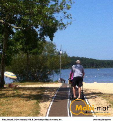 Mobi Mat Ada Beach Access Mat Inclusive Technology Beach Adaptive Sports Access