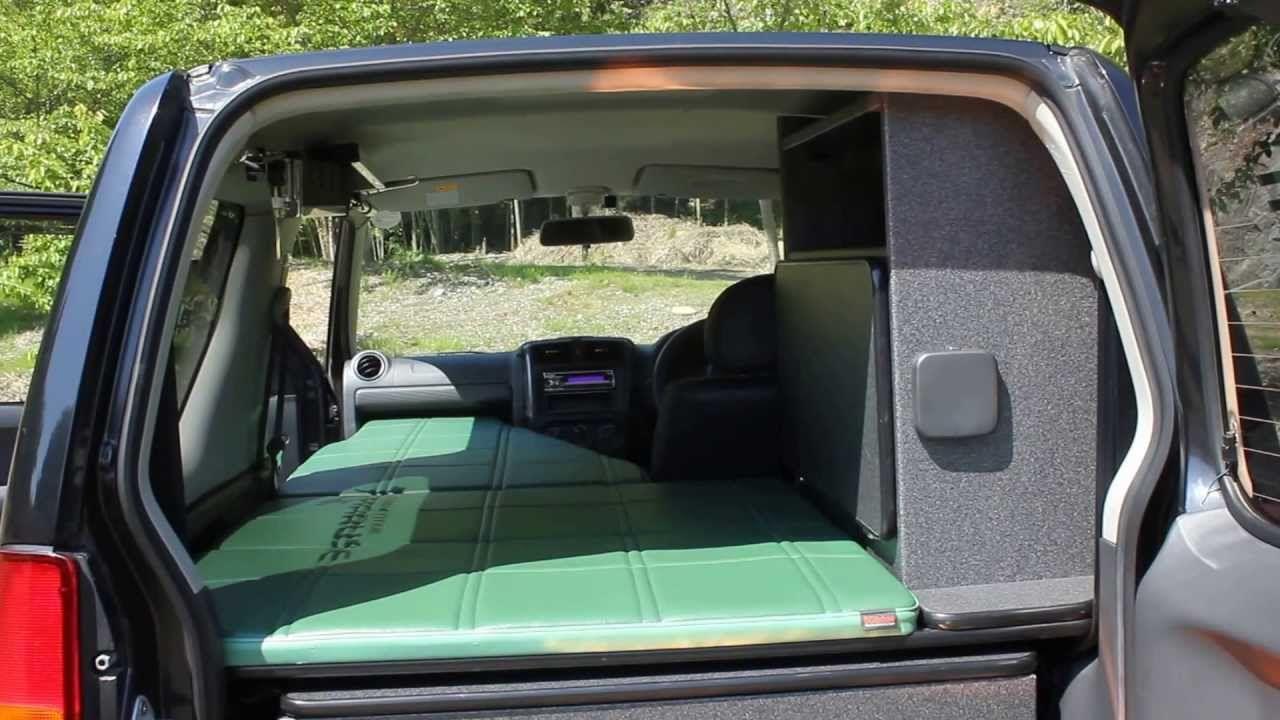Jimny Camper 1 Bed Jimny Camper Suzuki Jimny A Mini Caravan