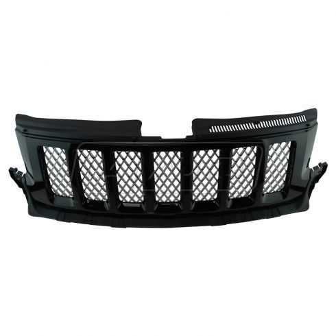 11 13 Jeep Grand Cherokee Altitude Black W Chrome Mesh Grille Mopar 2011 Jeep Grand Cherokee Jeep Grand Cherokee Jeep