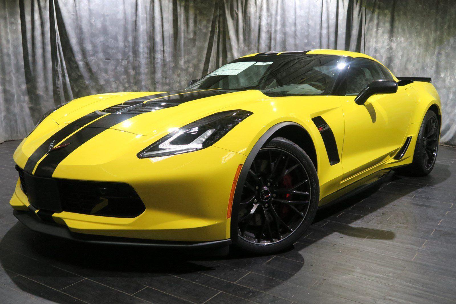 2018 Chevy Corvette Yellow With Reviews At Westside Chevrolet Dealer Houston Tx Chevrolet Corvette Corvette For Sale Corvette