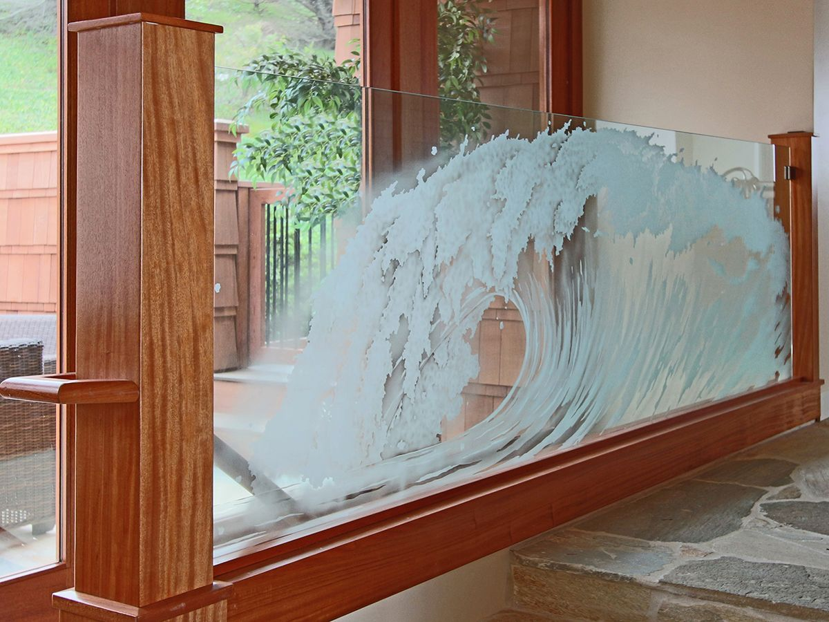 Best View Our Art Glass Gallery Custom Glass Work By Custom Glass Railing Glass Railing 400 x 300