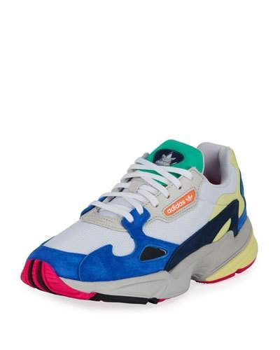cheap for discount 1f817 dc8ba Adidas Falcon Womens Mixed-Media Sneaker