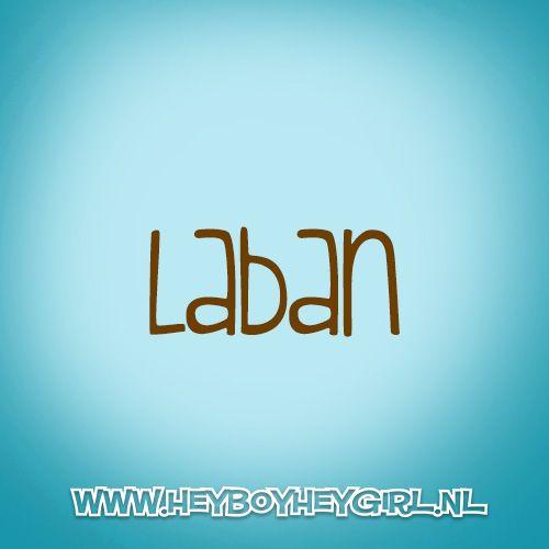 Laban (Voor meer inspiratie, en unieke geboortekaartjes kijk op www.heyboyheygirl.nl)