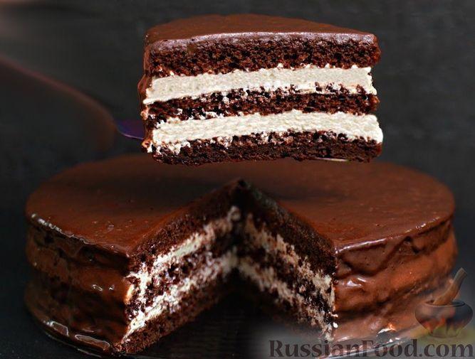Рецепт: Шоколадный торт «Стаканчиковый