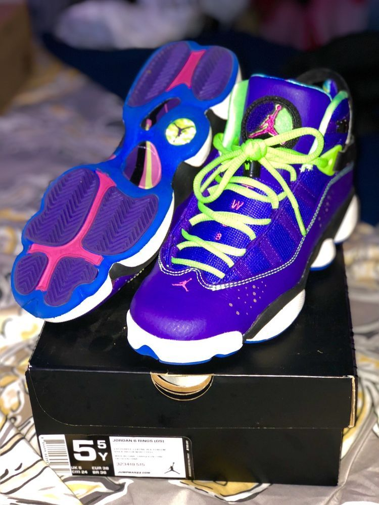 buy online 613f8 112dc Jordan Fresh Prince 6 Rings Size 5.5Y  fashion  clothing  shoes   accessories  kidsclothingshoesaccs  boysshoes (ebay link)