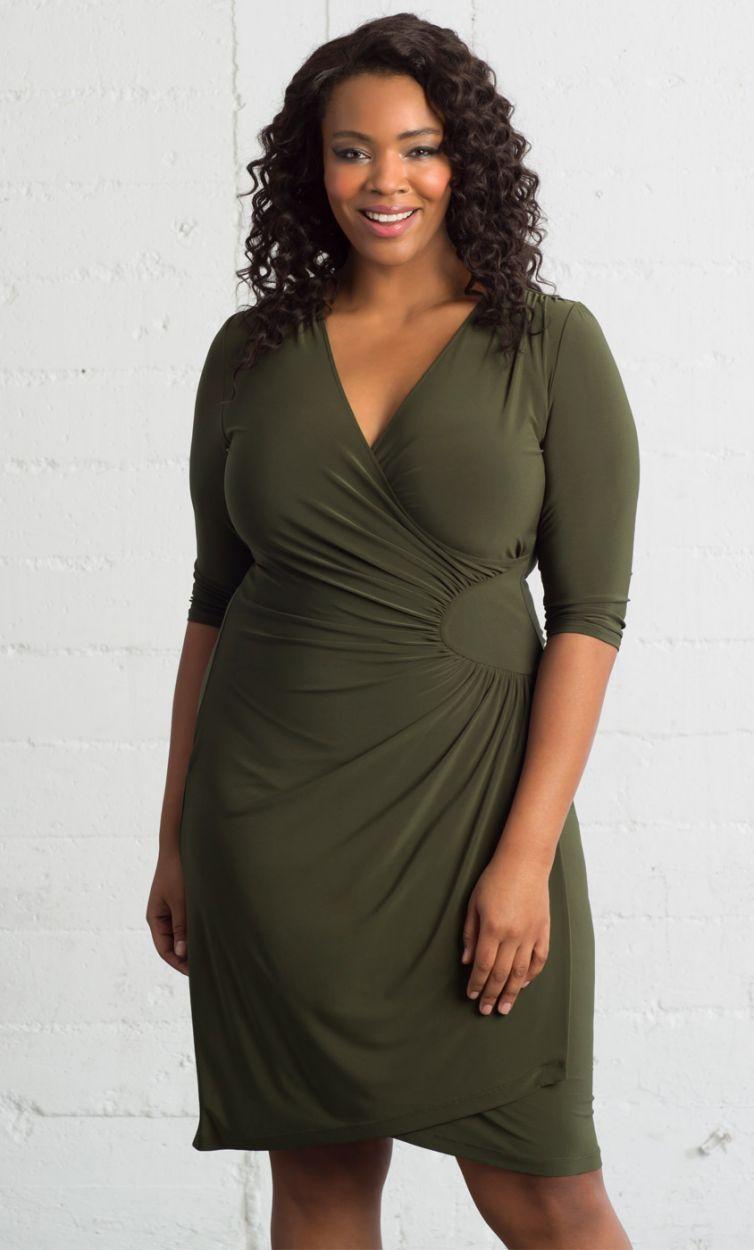 92dfd92d2f9 Ciara Cinch Dress Plus Size Summer Dresses