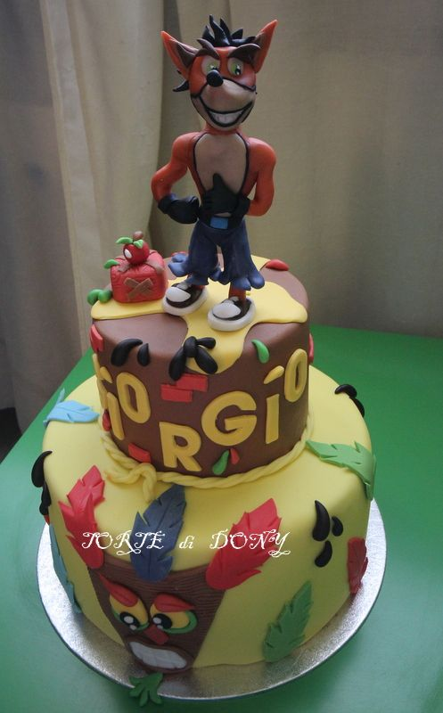 Crash Bandicoot I Want This Cake One Day For A Birthday Cake