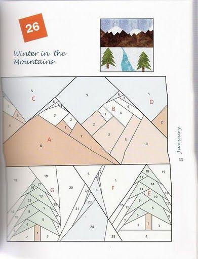365 Foundation Quilt Blocks Paper Pieced Quilt Patterns Foundation Quilt Blocks Paper Piecing Patterns