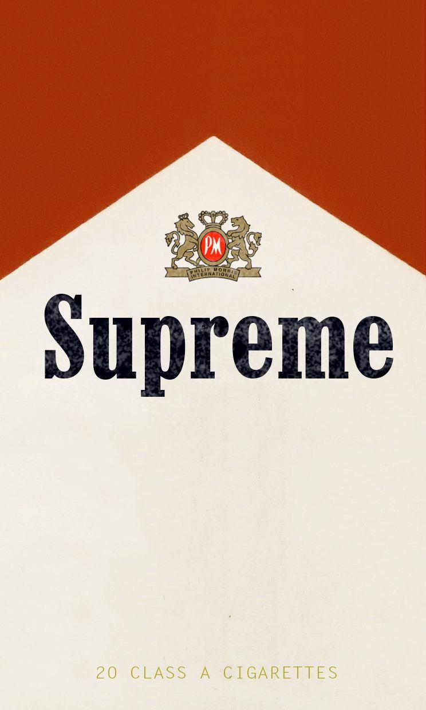 Marlboro X Supreme 2016 Supreme Wallpaper Hype