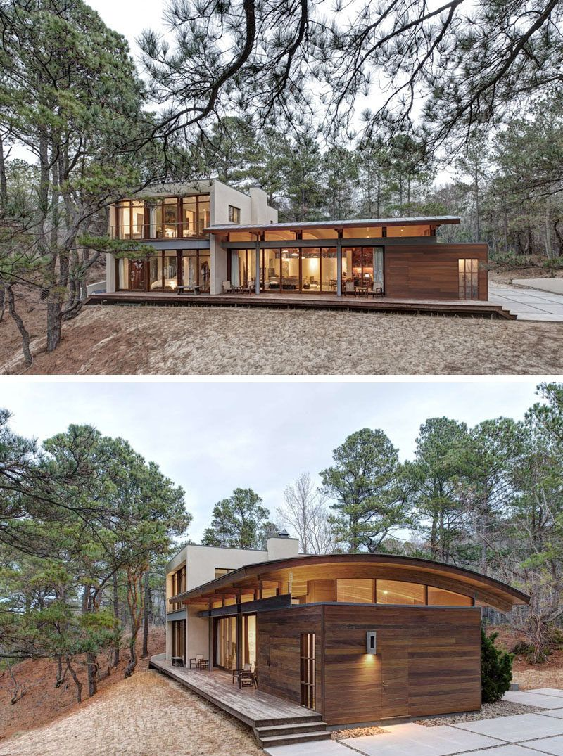 modern houses in the forest modern house and architecture