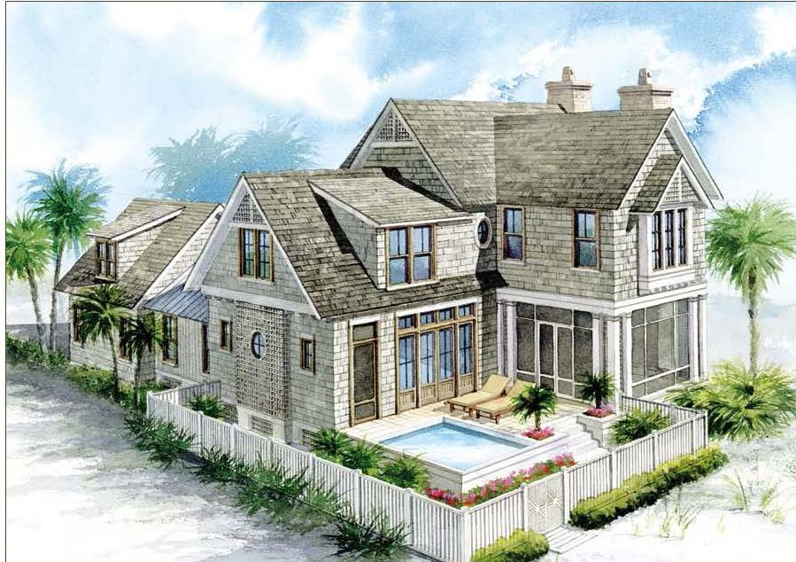 Nantucket Homes House Plan At Watersound Gulfview