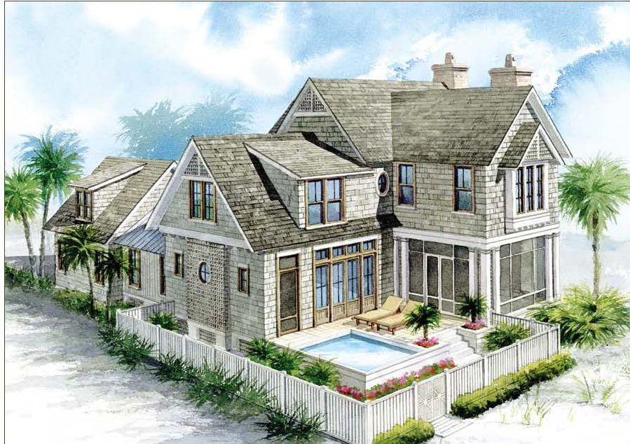 Nantucket Homes Nantucket House Plan At Watersound At