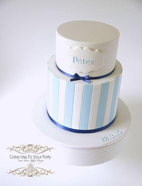 Boys ChristeningBaptism Cake Facebook Cake and Christening cakes