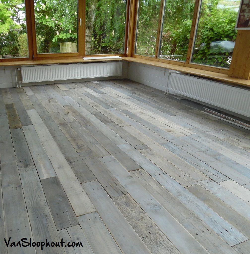 white wash houten vloer van sloophout sloophout houtenvloer