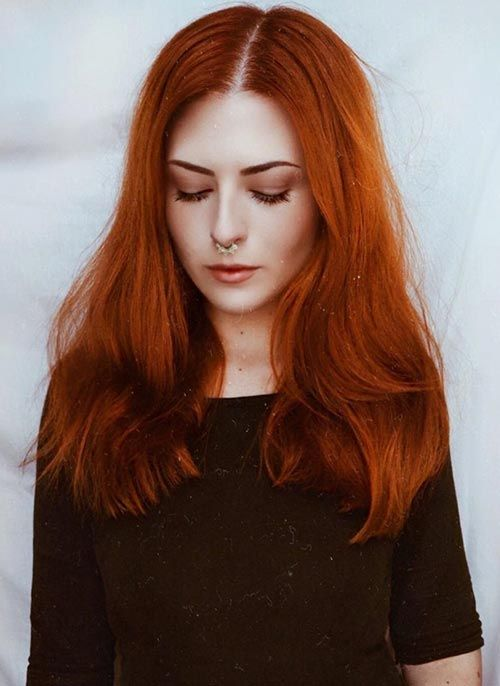 20 Gorgeous Ways To Style Copper Hair Color Hair