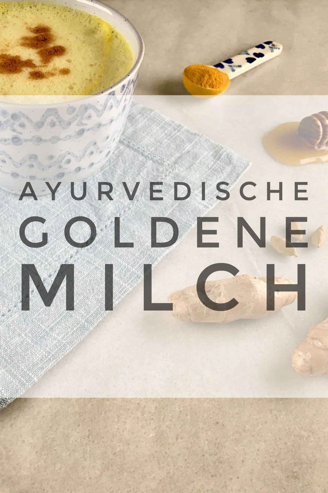 Die Goldene Milch Fur Einen Entspannten Schlaf Schon Unsere Grossmutter Kannten Die Beruhigende Wirkung Einer Warmen Ta Goldene Milch Rezept Goldene Milch Milch