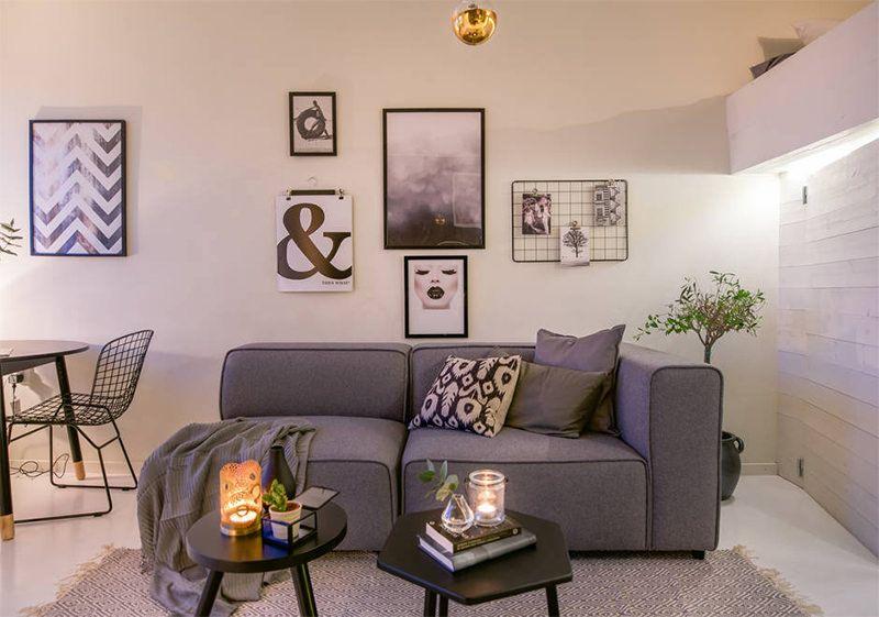Dois lindos apartamentos com menos de 30 metros quadrados - limaonagua