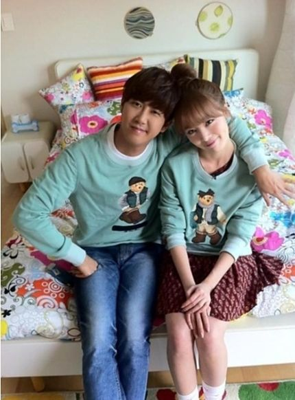Kwanghee And Sunhwa To Become Parents On We Got Married We Get Married Korean Celebrities Han Sunhwa