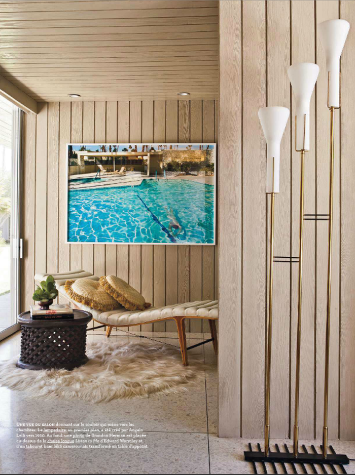 A Palm Springs Oasis | Beautiful houses interior, House ...