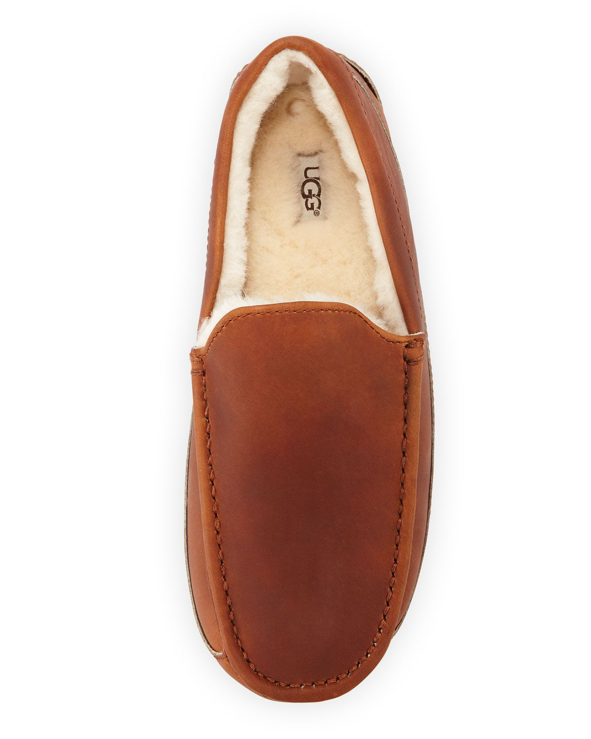 ef52189c1fa UGG Men's Ascot Pinnacle Horween Leather Slippers   Products ...