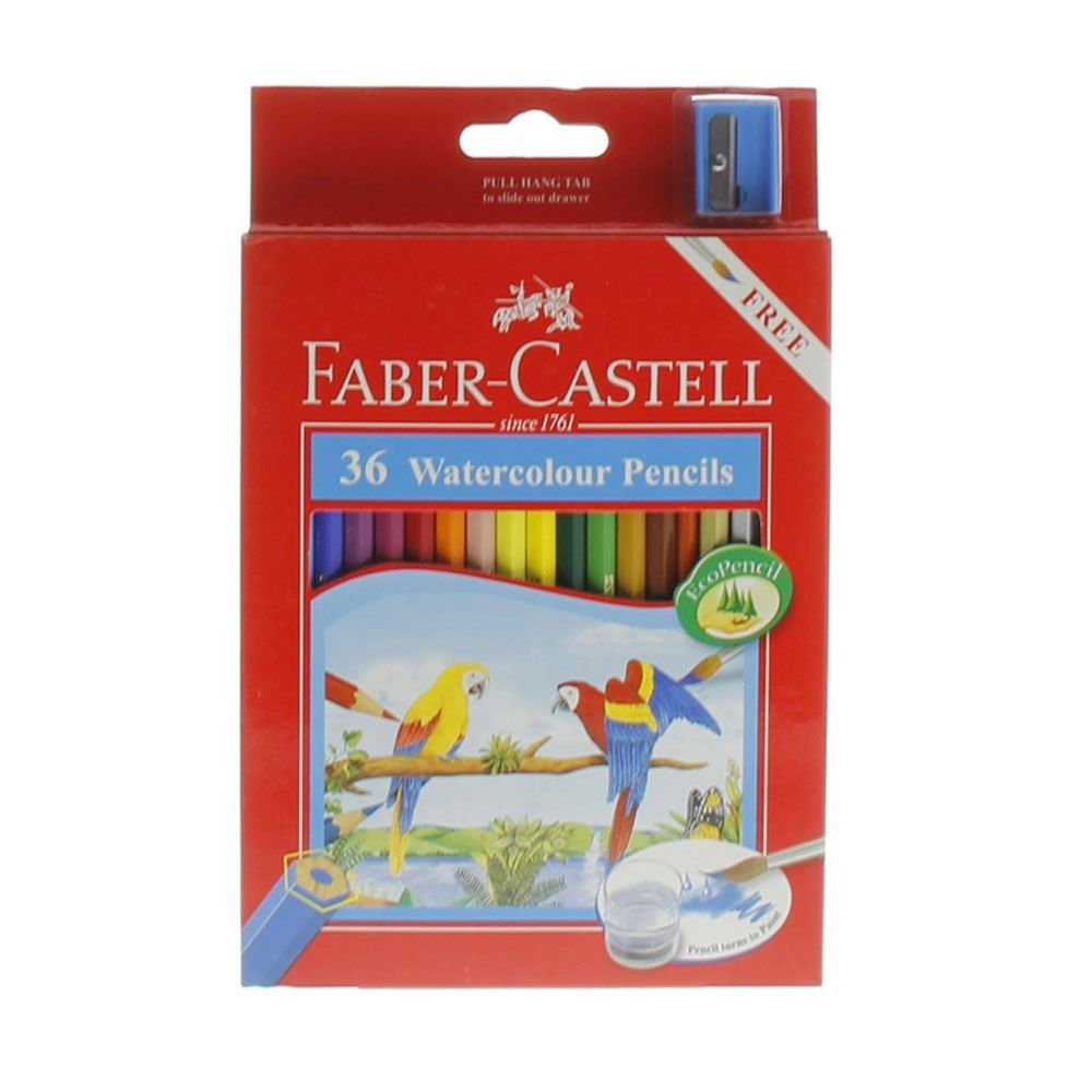 Buy Faber Castell Water Colour Pencil 36 Pieces Online In Uae