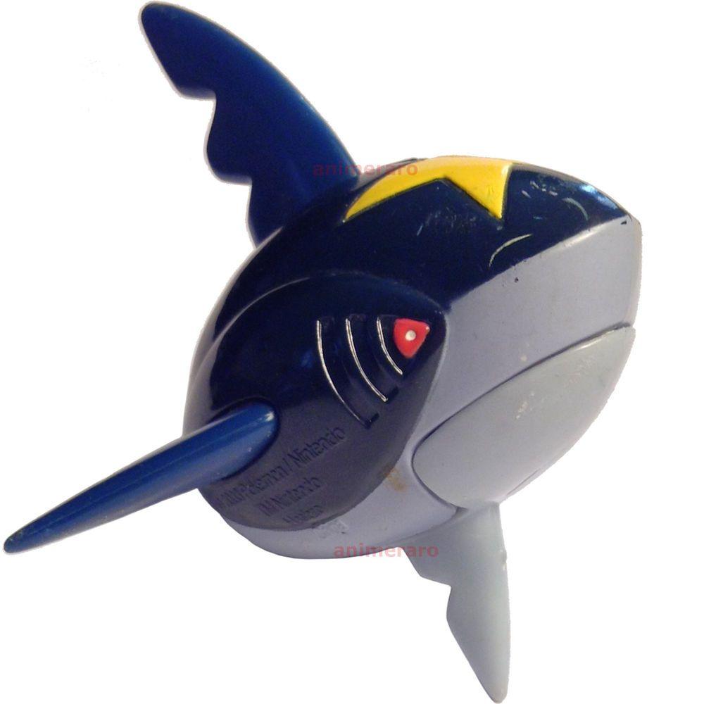 Pokemon Advanced SHARPEDO Figure Bite Attack Action Hasbro ...