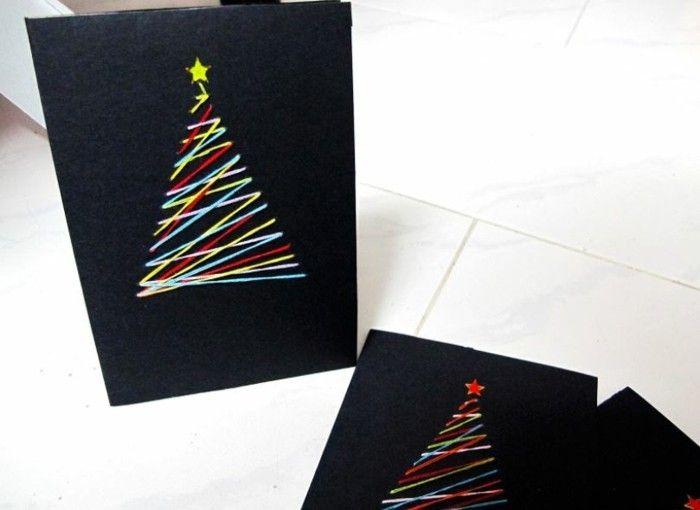 Wunderbar Originelle Weihnachtskarten Selber Basteln Diy Ideen