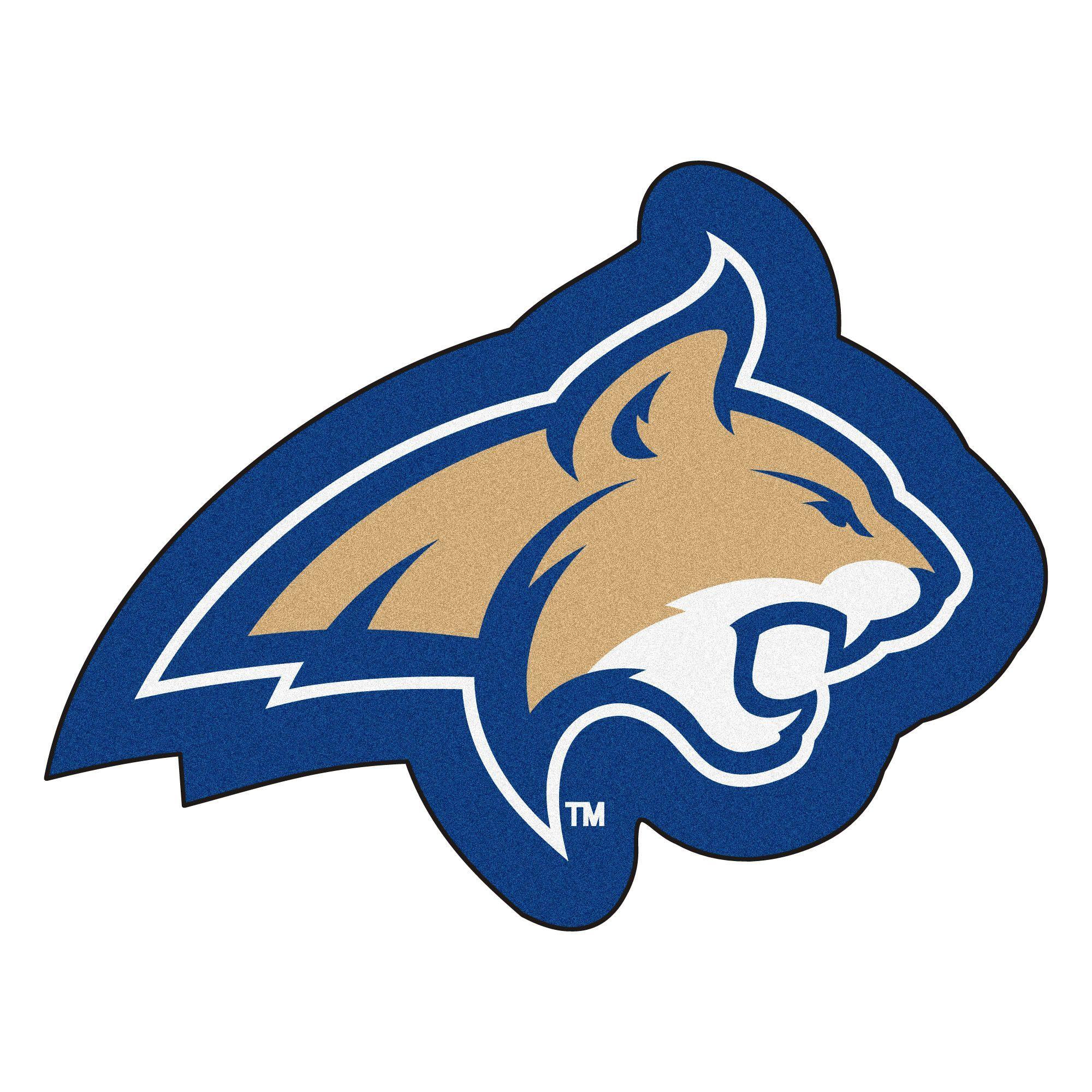 Ncaa Montana State University Mascot 40 In X 30 In Non Slip Indoor Only Door Mat Mascot Montana State Montana State University