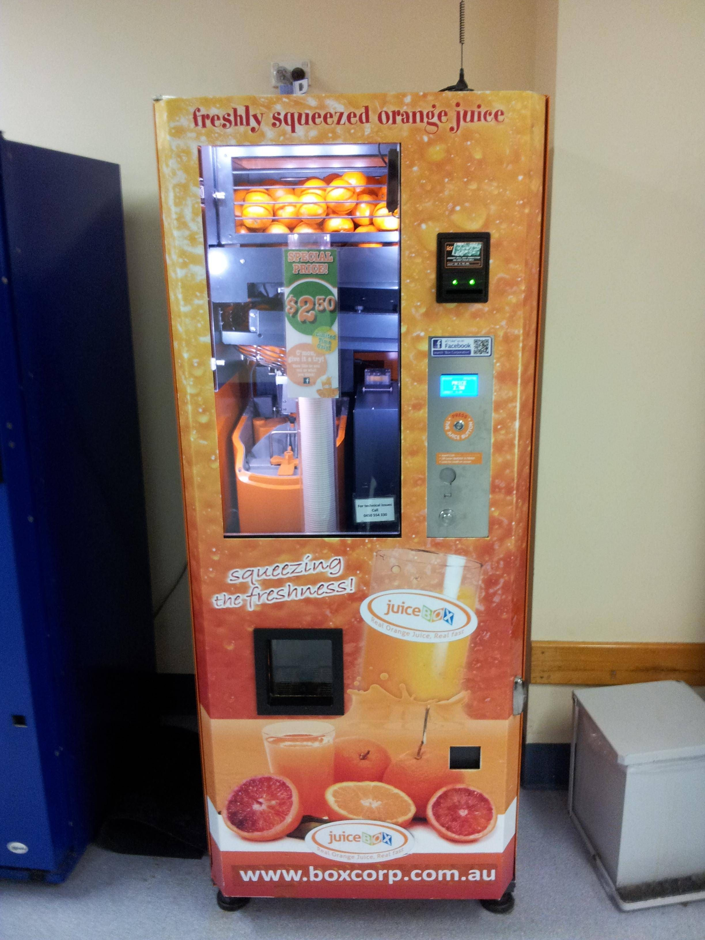 A Vending Machine For Everyone Vended Convenient Hootinany