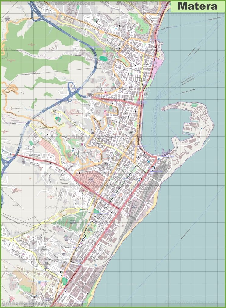 Large detailed map of Messina Maps Pinterest Messina Italy